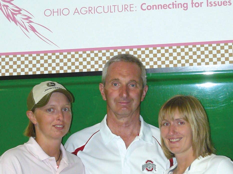 Brent Porteus, along with his daughters, Beth and Amy, bring together community and raise funds for cancer research at their fundraiser, Cultivating a Cure.