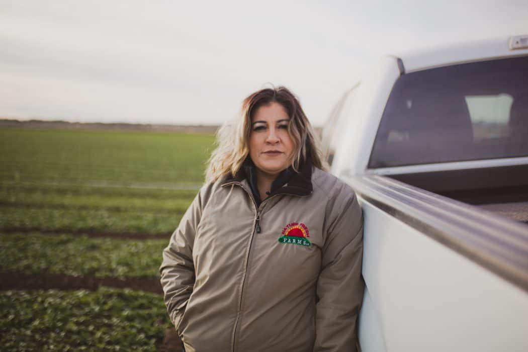 FarmHer Lupe Camarena a Food Safety Manager at Nature Fresh Farm in southern Arizona