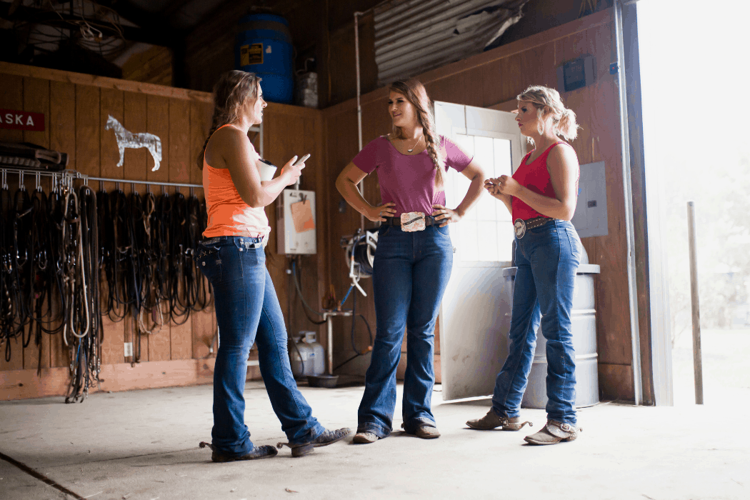 The Eberspacher sister discuss their business together at Triple E Equine.