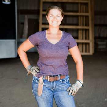 Maggie Holub operates Holub Farm in Nebraska.