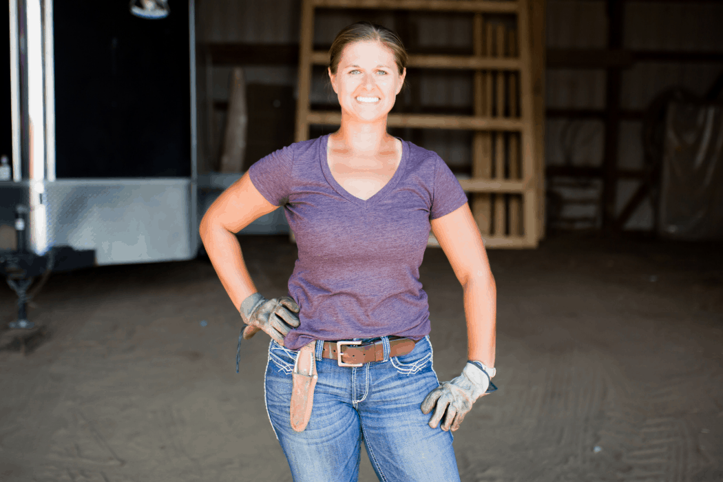 Maggie Holub operates Holub Farm in Nebraska.