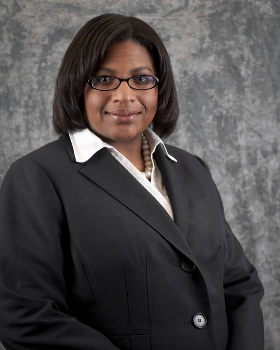 Dr. Olga U. Bolden-Tiller, Head of the Department of Agricultural and Environmental Sciences (DAES) and the Assistant Dean of Development for the College of Agriculture, Environment and Nutrition Sciences (CAENS) at Tuskegee University (TU).