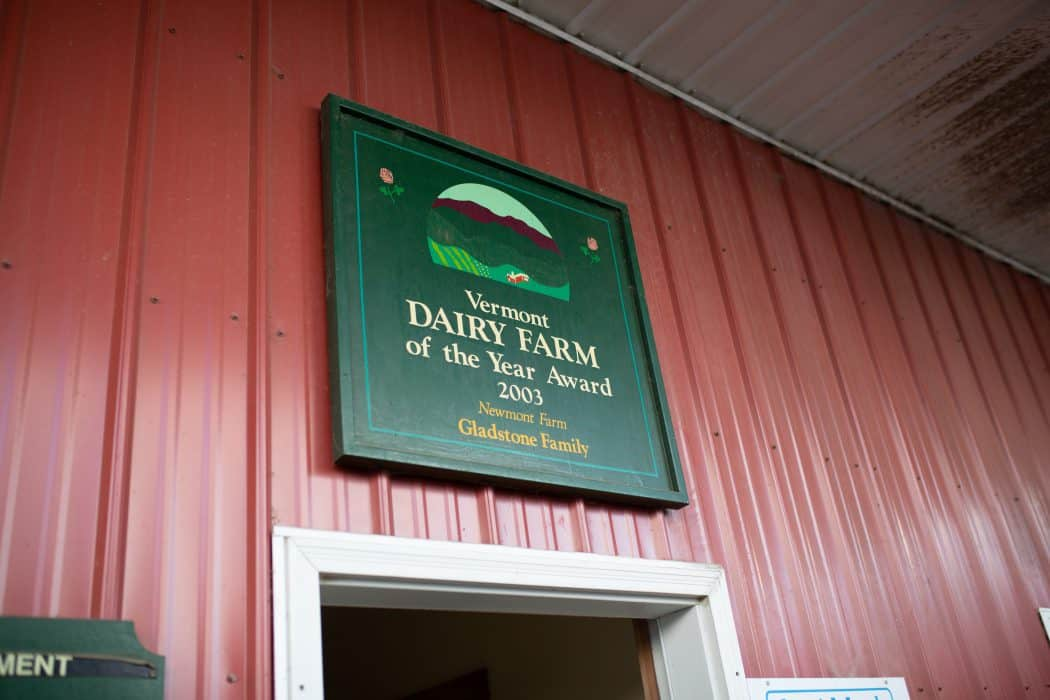Newmont Farm is a dairy farm in the Vermont Valley.